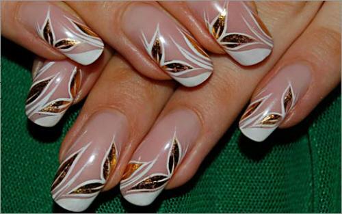 Для выполнения дизайна ногтей