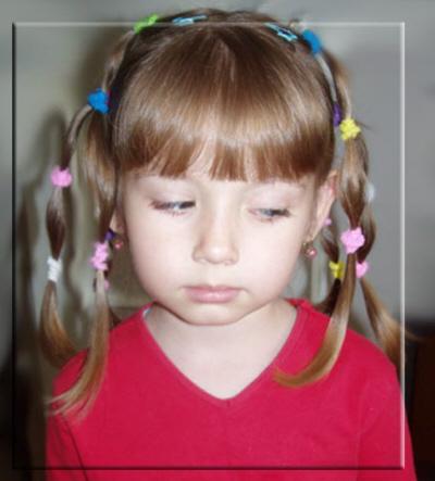Прически маленьким девочкам 2 3 года