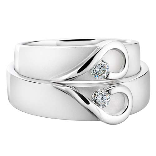 Стильные обручальные кольца   «Gold World